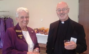 Sherry Nilles & Fr. Tim Hogan